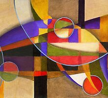 Shades of Kandinsky by Alma Lee