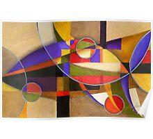 Shades of Kandinsky Poster