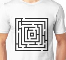 labyrinth ,Kids maze game Unisex T-Shirt