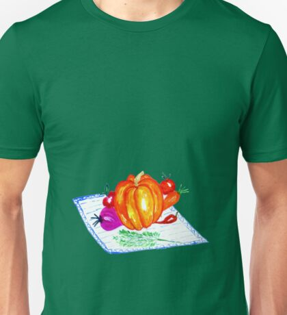 Collection of Vegetables Unisex T-Shirt