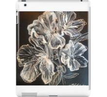 White Azaleas by Liz H Lovell iPad Case/Skin