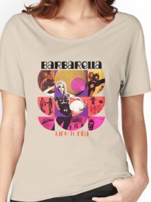 Barbarella - cult movie 1969 Women's Relaxed Fit T-Shirt