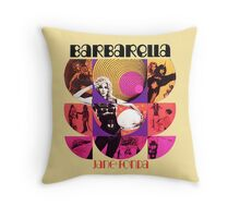 Barbarella - cult movie 1969 Throw Pillow