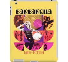 Barbarella - cult movie 1969 iPad Case/Skin