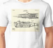 Submarine Torpedo Boat 03-1910 Unisex T-Shirt