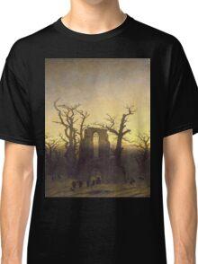 The Archway by Caspar David Friedrich Classic T-Shirt