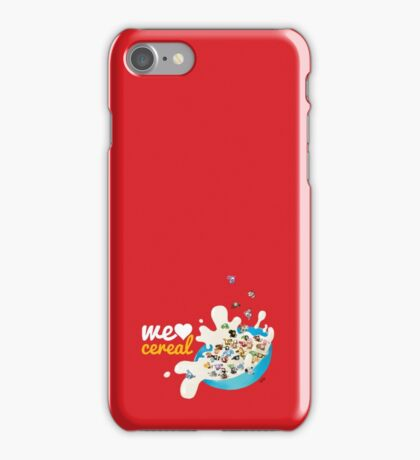 We Love Cereal iPhone Case/Skin
