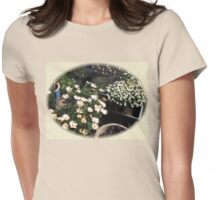 Flowers in Dappled Light - Vignette Womens Fitted T-Shirt