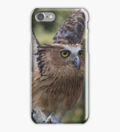 Buffy Fish Owl iPhone Case/Skin
