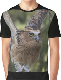 Buffy Fish Owl Graphic T-Shirt