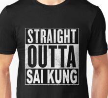 Straight Outta Sai Kung, Hong Kong Unisex T-Shirt