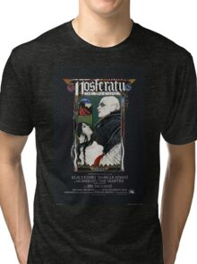 Nosferatu Movie Poster Tri-blend T-Shirt