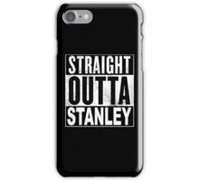 Straight Outta Stanley, Hong Kong iPhone Case/Skin