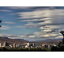 Lenticular Cloud Show Photographic Print