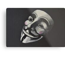 V is for Vendetta Metal Print