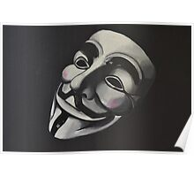 V is for Vendetta Poster