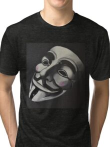 V is for Vendetta Tri-blend T-Shirt