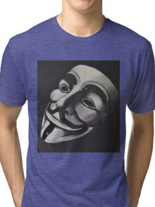 V is for Vendetta Tri-blend T-Shirt