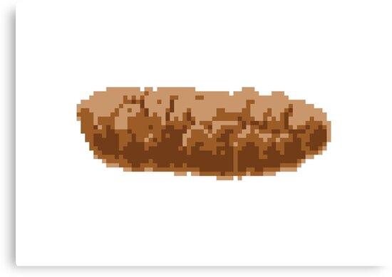 Pixel Poop by tinybiscuits