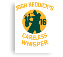 Josh Reddick's Careless Whisper - Oakland A's Canvas Print