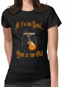 Loud Music Womens Fitted T-Shirt