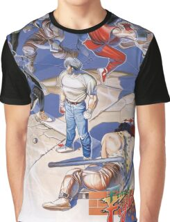 Final Fight Classic Box art Graphic T-Shirt