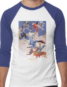 Final Fight Classic Box art Men's Baseball ¾ T-Shirt