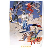Final Fight Classic Box art Poster