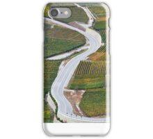 Vineyards in the Rhone-valley - Switzerland iPhone Case/Skin