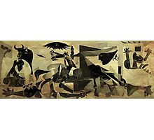 Guernica 14 Photographic Print