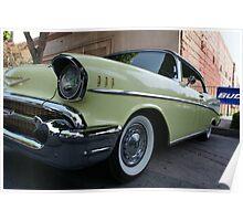 1957 Original Chevy Belair; Whittier, CA USA Poster