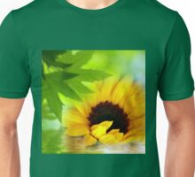 A Sunflower in Shade Unisex T-Shirt