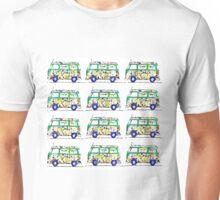 Bunting Bus mosiac Unisex T-Shirt