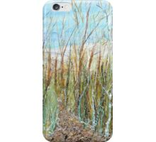 A walk to the dunes iPhone Case/Skin