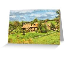 Homes of the Shire Folk Greeting Card