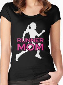 Mom - Runner Mom T-shirts Women's Fitted Scoop T-Shirt