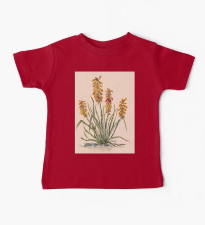 Kniphofia (Red Hot Poker) Baby Tee