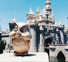 Disneyland castle by Disneyland1901