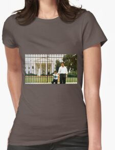 Pablo Escobar y su hiro Womens Fitted T-Shirt