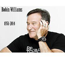 RIP Robin Williams  Photographic Print