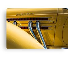 Yellow Super-Charged Canvas Print