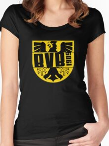 BORUSSIA DORTMUND LOGO Women's Fitted Scoop T-Shirt