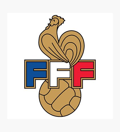 FRANCE FOOTBALL FEDERATION Photographic Print