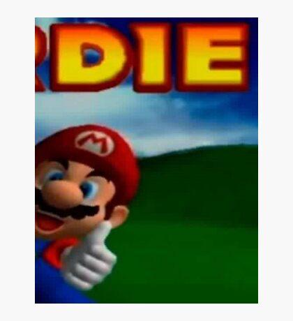 Mario Photographic Print