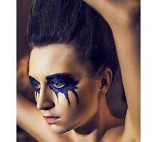 Beauty Girl's Face Photographic Print
