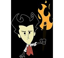 Don't Starve Wilson Photographic Print