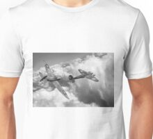 The Chase, B&W version Unisex T-Shirt