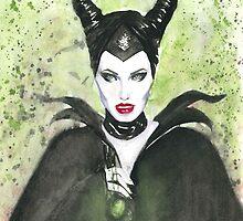Maleficent  by Duncan Delatousche