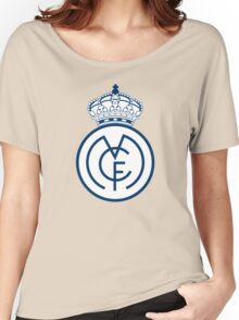 REAL MADRID FC Women's Relaxed Fit T-Shirt