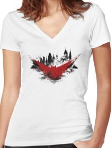 Im a Soldier! Women's Fitted V-Neck T-Shirt